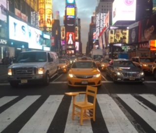 TIMES SQUARE – NOTHING IS IMPOSSIBLE