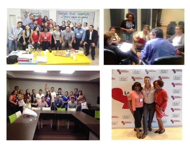 Anna D Banks, Bola Disu and Francisco Fuertes, Transformation Paraguay