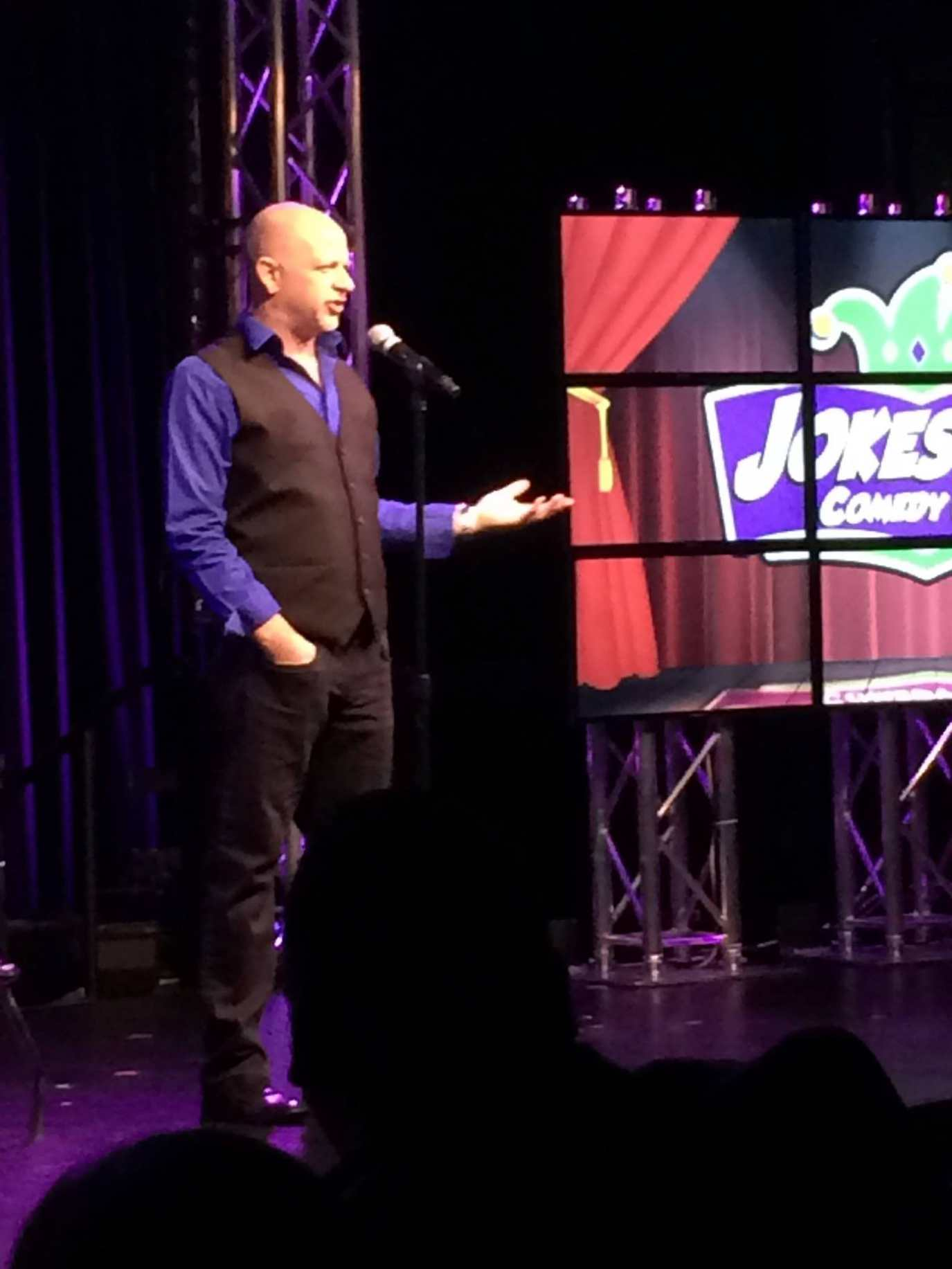 Don Barnhart Offers Military Appreciation Night At Jokesters
