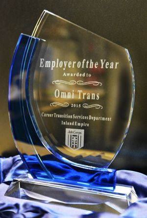 Omnitrans honored with Employee of the Year Award