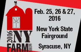 Tire Sidewall Depot at the 2016 NY Farm Show