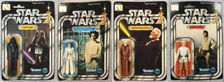 A Star Wars collection will include a set of 12 back mint on card figures.