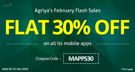 Agriya February Flash Sale