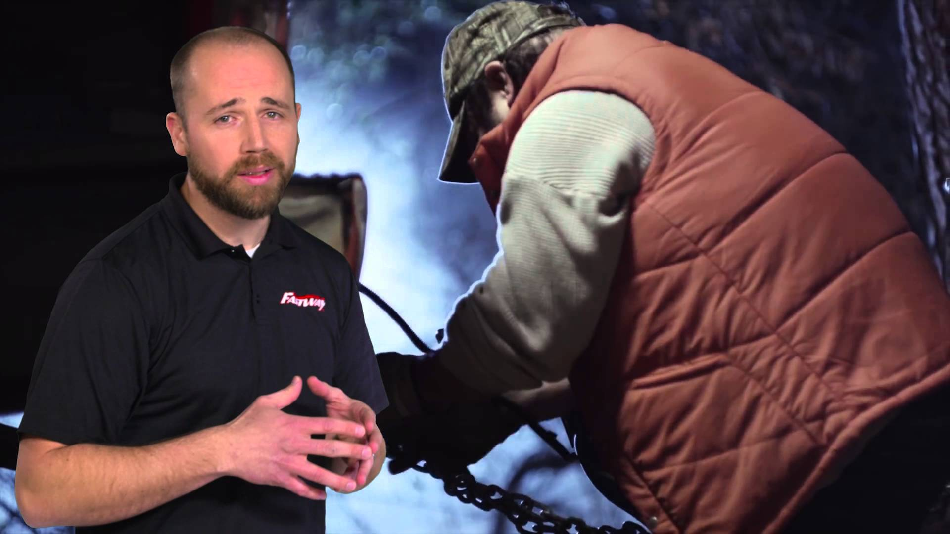 Trevor Millar explains how to prevent wildfires with the Fastway Chain-Up.