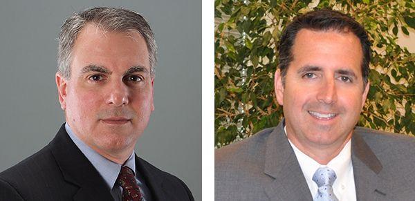 Howard Insley (left) and Thomas C. Albergo (right)