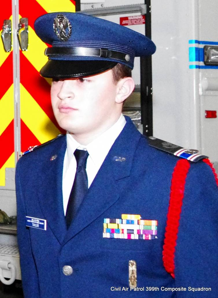 Cadet First Lieutenant Joseph Taylor (Photo: Major Peter Milano)