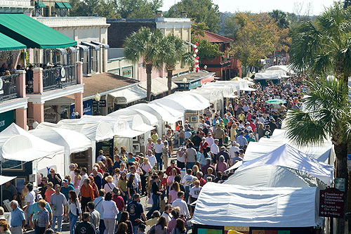 Mount dora spring collectibles and crafts show premieres for Mount dora craft fair 2017