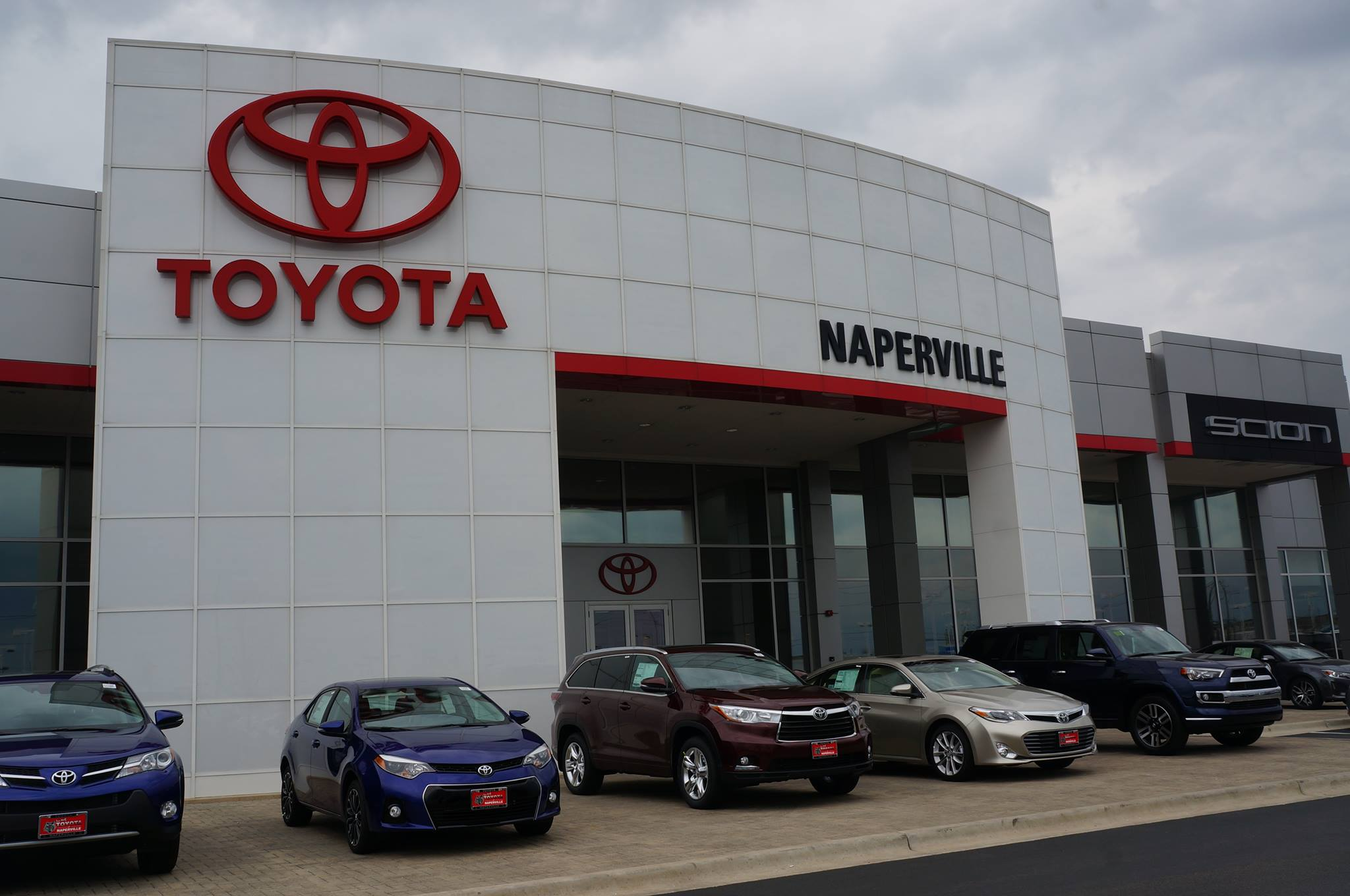 Stop by toyota of naperville today