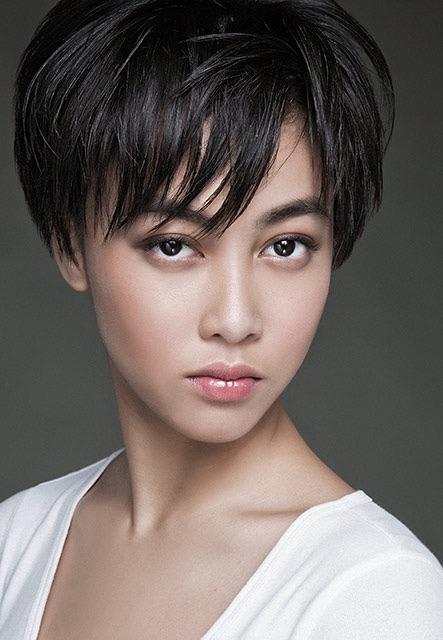 Nicole Bonifacio, a new face on the New York fashion runway.