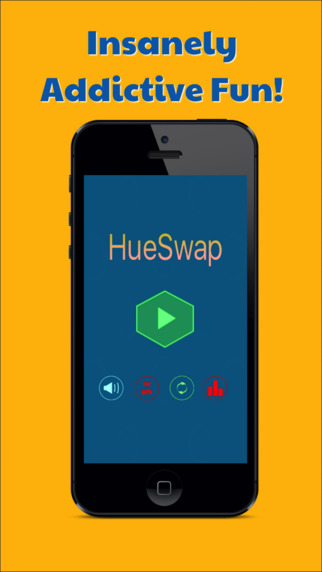 HueSwap Beats Color Switch Up Game App.
