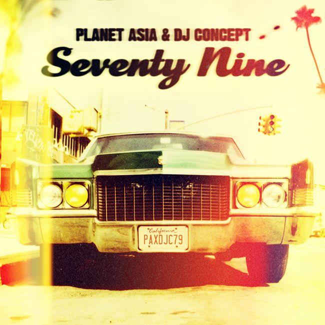 Planet Asia & DJ Concept - Seventy Nine