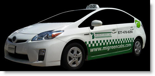 Eco-Friendly Taxi Cabs in Michigan