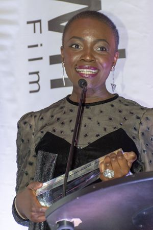 Constance Ejuma, winner BEST PICTURE and BEST ACTRESS