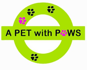 A Pet with Paws Logo