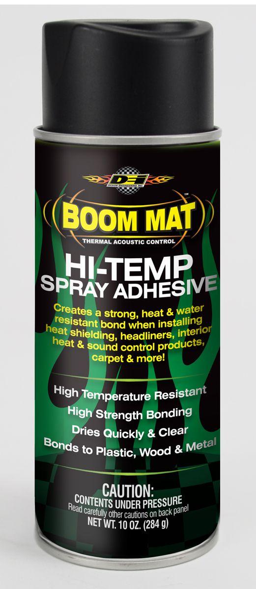Boom Mat Introduces Hi Temp Spray Adhesive Design