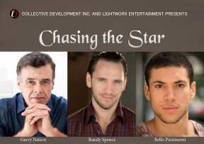"""The leads of """"Chasing the Star"""""""
