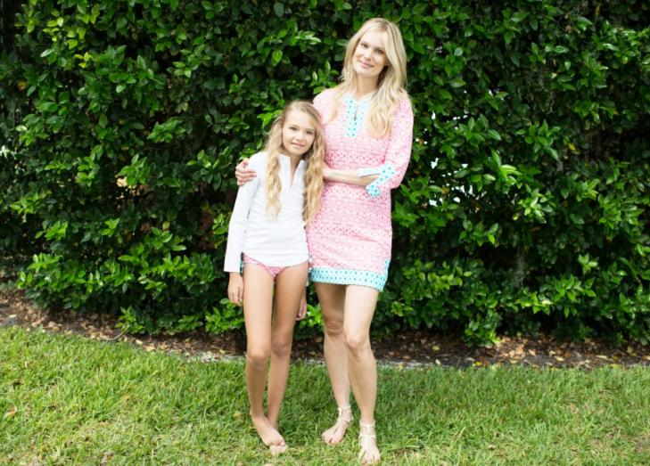 Cabana Life Offers Coordinating Sunblock Clothing for Mothers and Their Children