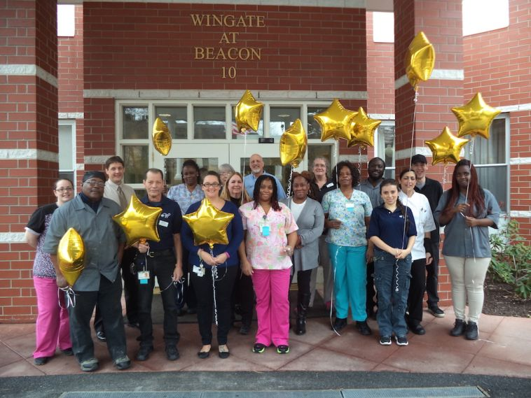 Wingate at Beacon Staff Celebrating 5-Star Achievement