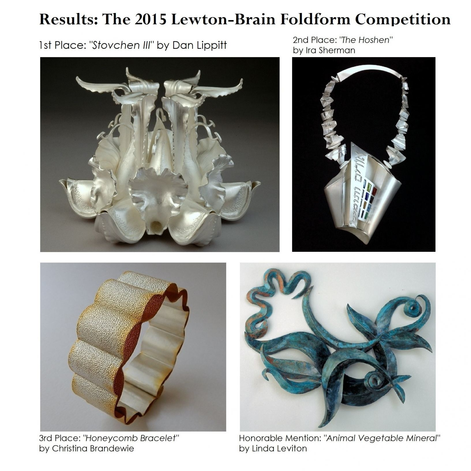 2015 Foldform Competition Winners Collage