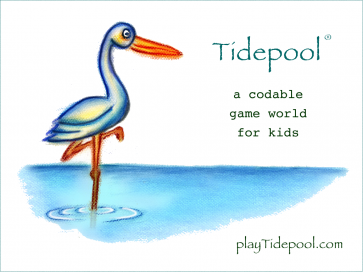 Tidepool is a codable game world for kids