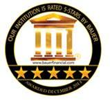"Intracoastal Bank has once again earned a Bauer 5-Star ""Superior"" Rating."
