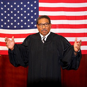 Steven Anthony Jones Is Thurgood Marshall (Photo by Gina Snow)