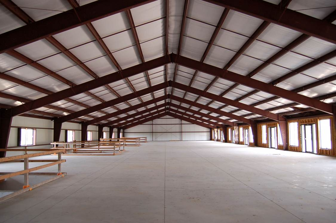 CDW tenant finish - cold shell construction