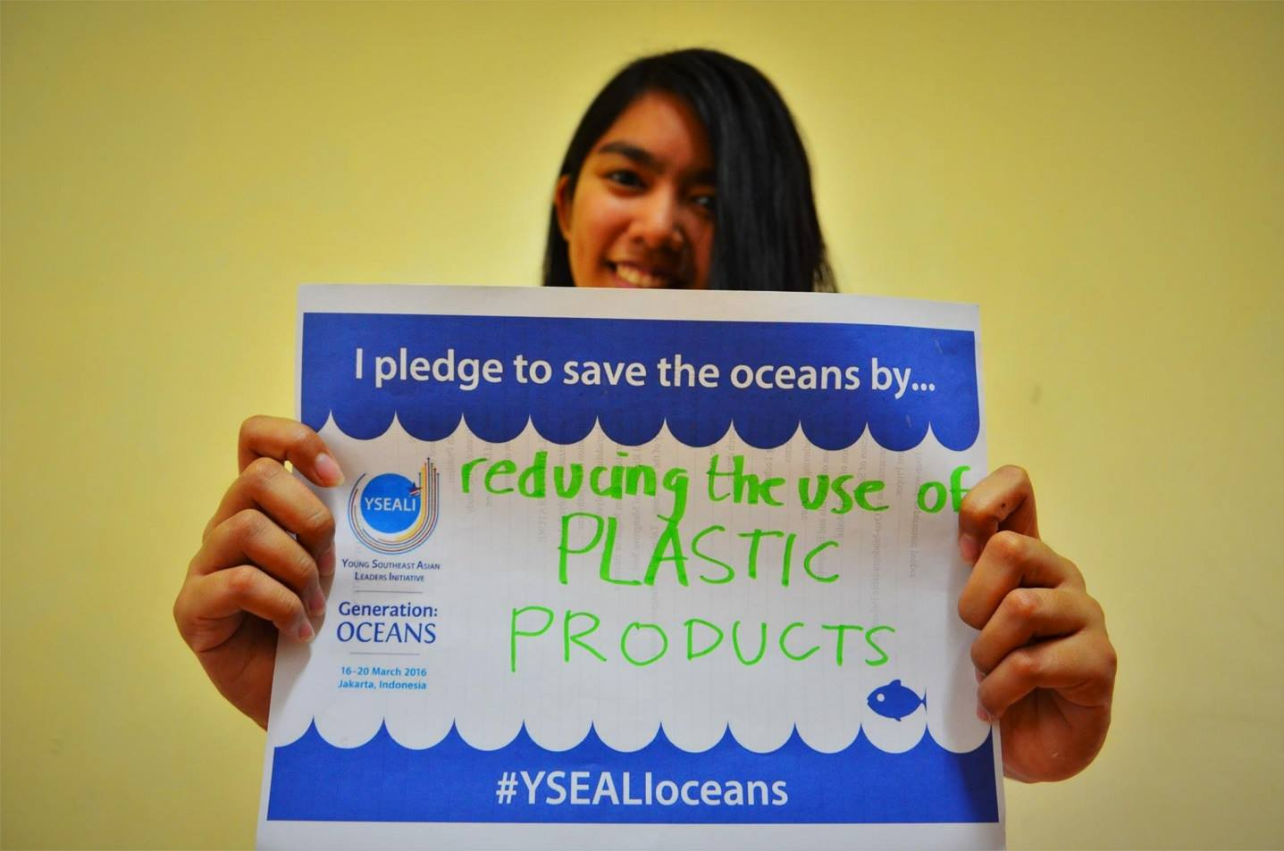 64 Southeast Asian leaders come together in Jakarta to save our oceans.