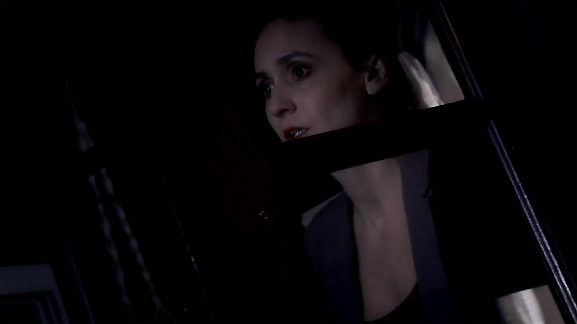 "Jeanne Marie Spicuzza as LANA in ""The Scarapist""™"