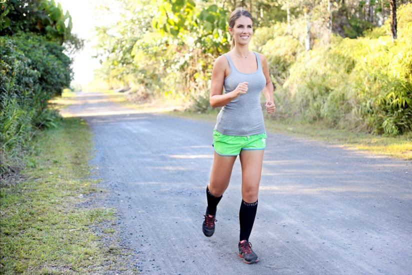 ZestWear's unisex calf compression sleeves improve recovery and aid performance