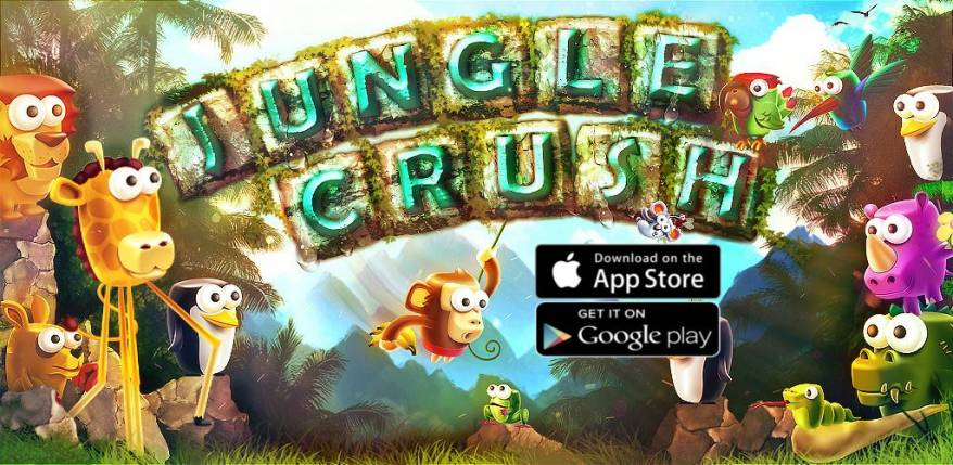 Jungle Crush by elitapps.com