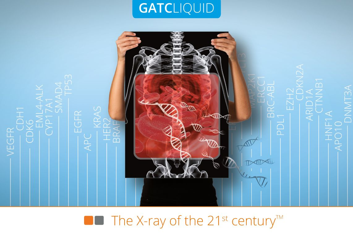 GATCLIQUID - Most comprehensive service for cancer research from liquid biopsies