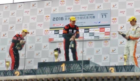Asia Formula Renault BlackArts Racing Win
