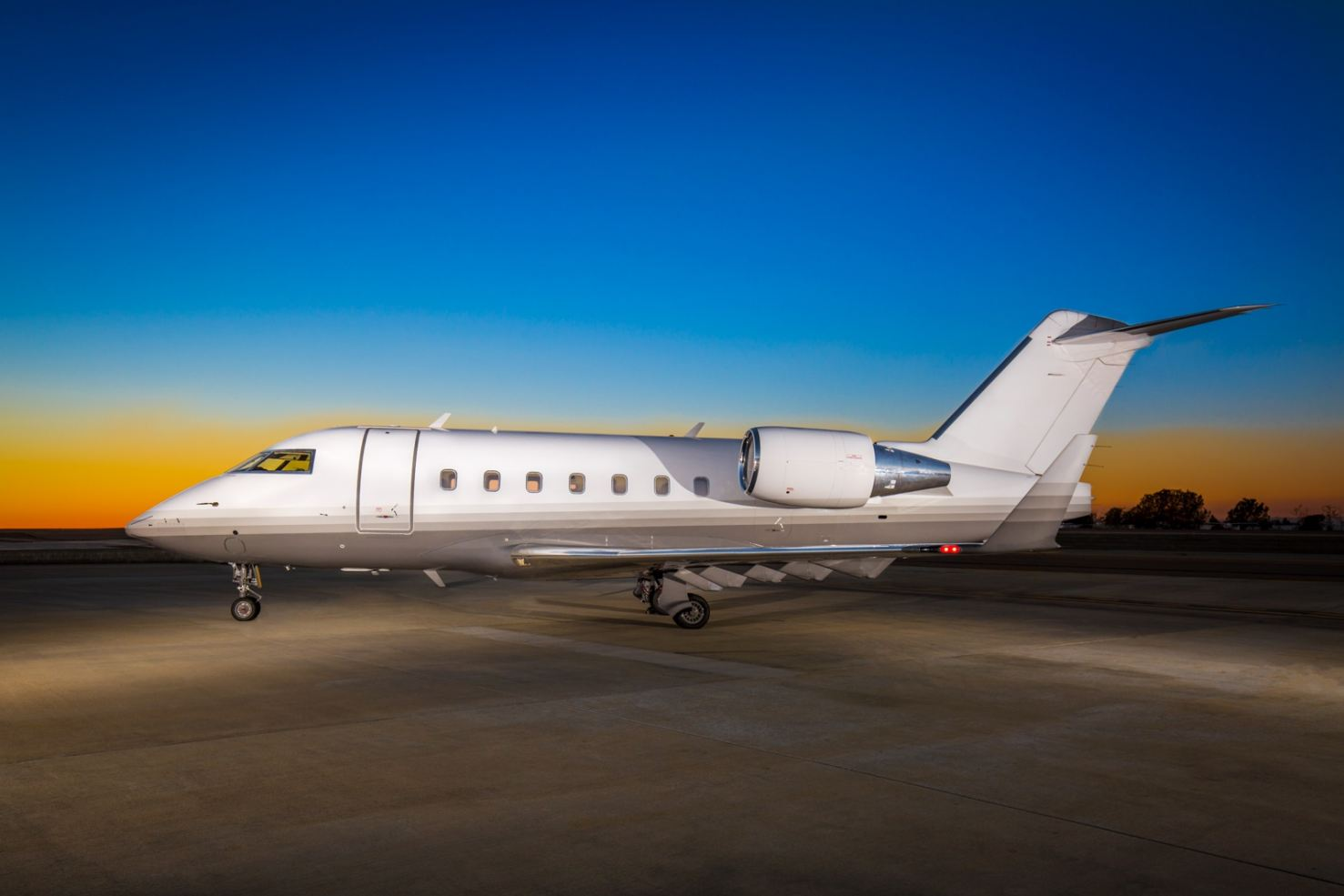 Schubach Aviation's New Bombardier Challenger 601-3R