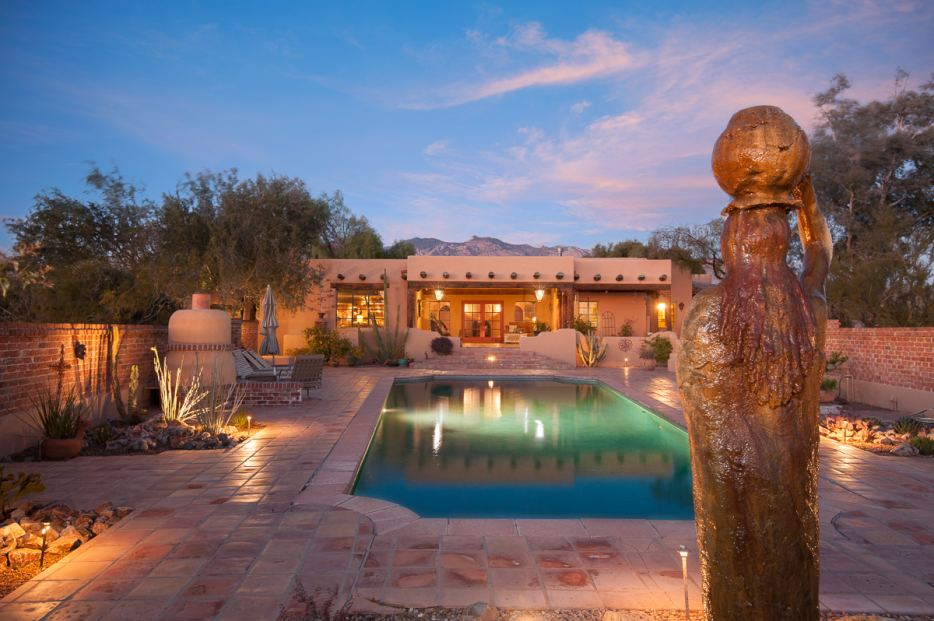 5030 N. La Lomita, Historic Joesler Home for Sale in the Catalina Foothills