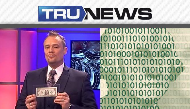TRUNEWS 3-10-16 Terry Sacka Talks Digital Fiat Currency
