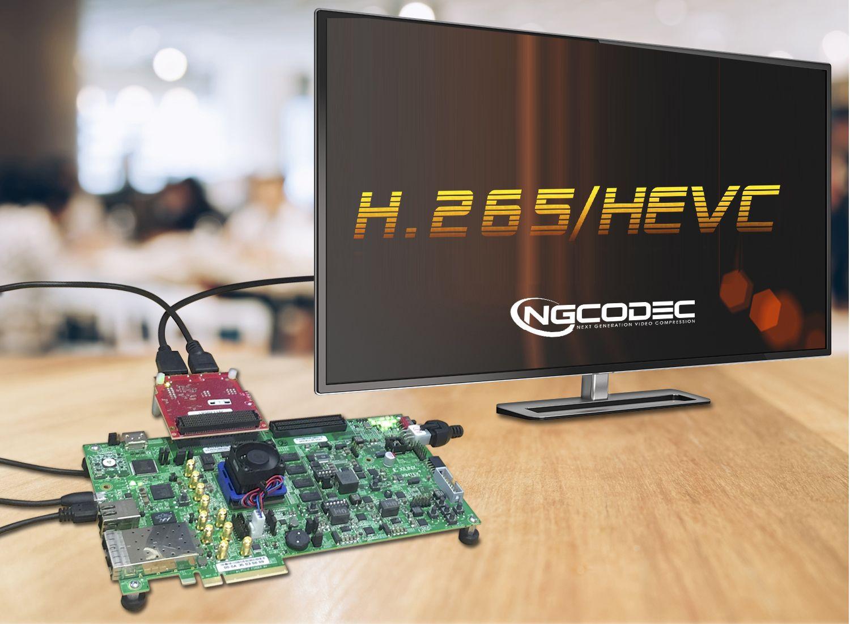 NGCodec HEVC/H.265 Video Encoder