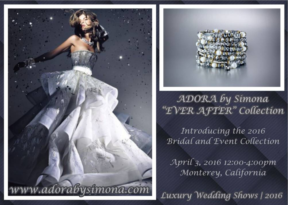 "ADORA by Simona to Launch the 2016 ""Ever After"" Collection"