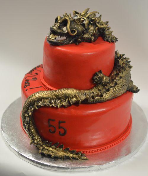 Award-Winning Dragon Cake