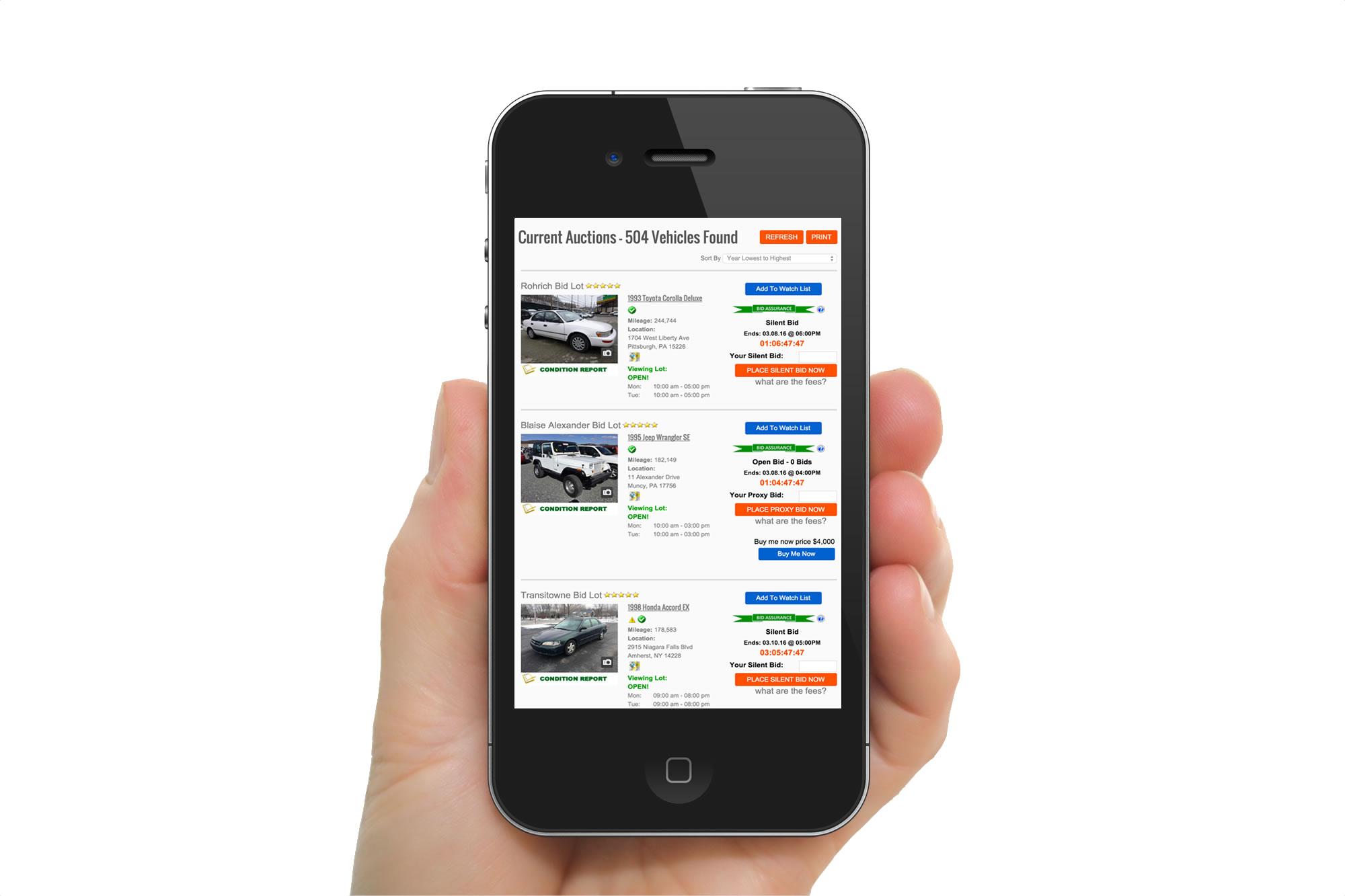 Auction Simplified App