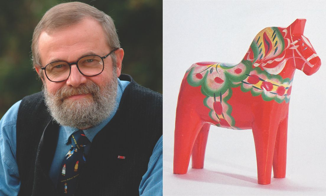 Harley Refsal, noted Scandinavian-style woodcarver