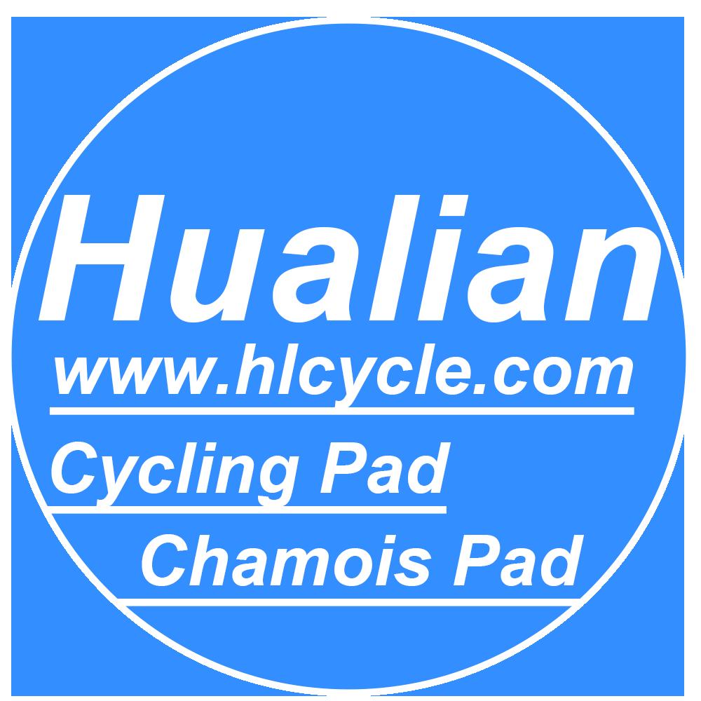 hualian cycling pad chamois pad logo