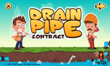 Drain Pipe Contract:Plumber Game