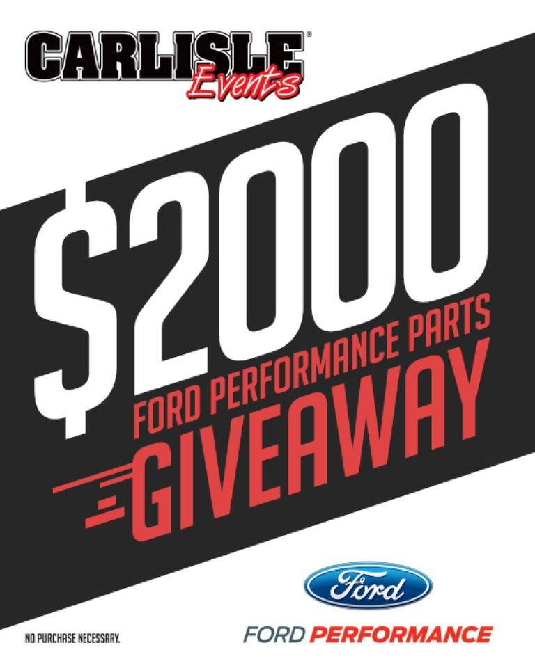 Ford Racing Parts >> Popular Ford Performance Racing Parts Giveaway Returns In