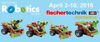 Celebrate National Robotics Week with fischertechnik Education