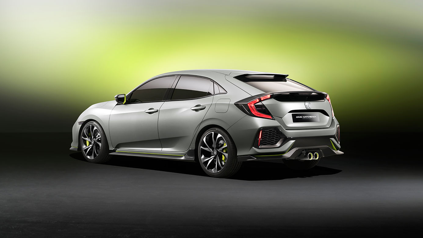 North America Meets The 2017 Honda Civic Hatchback New