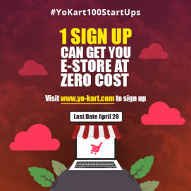 YoKart is soon going to launch a Mega event - #YoKart100Startups