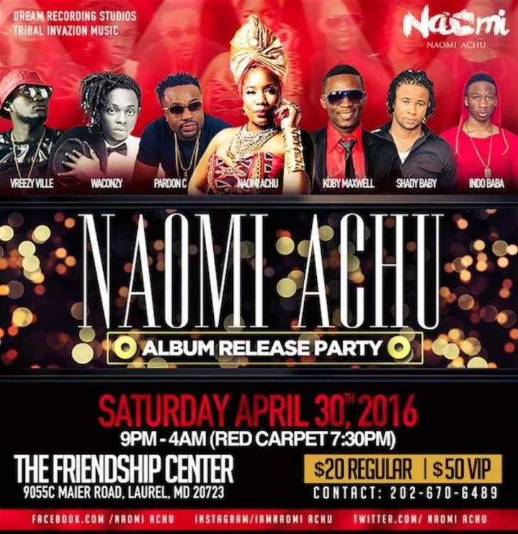 #LLTQ: Naomi Achu Album Release