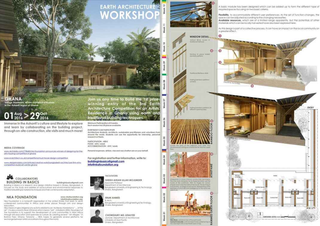 Ghana construction of the 1st prize winning design in 3rd for Architecture house design competitions