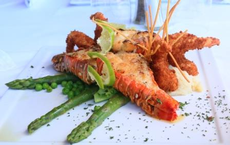 Fresh seafood entrees and local appetizers delivered to your home or business